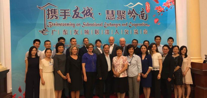 Mendoza participó en China de un Encuentro de Provincias Hermanas