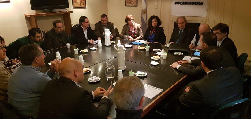 ProMendoza avanza en la relación comercial con México