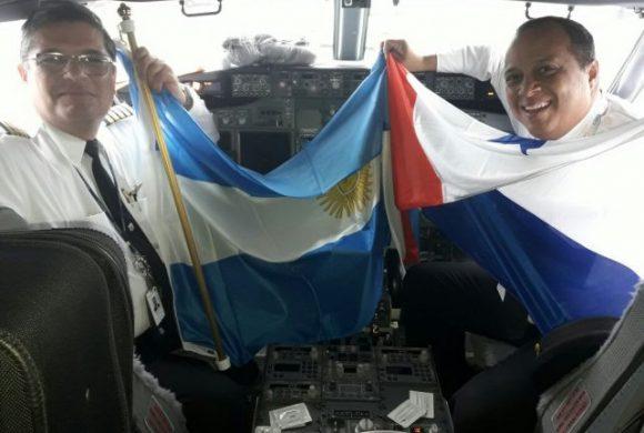 Una misión comercial, primera en aprovechar el vuelo hacia Panamá