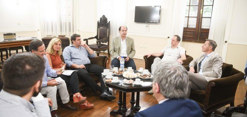 Inversores italianos fueron recibidos por la vicegobernadora Montero y el ministro Kerchner