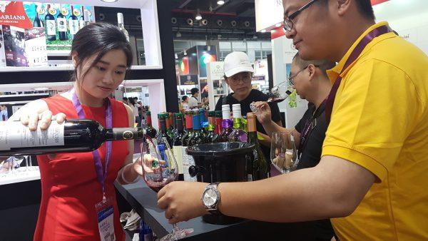 Vinos y espumantes mendocinos fueron bien recibidos en Interwine