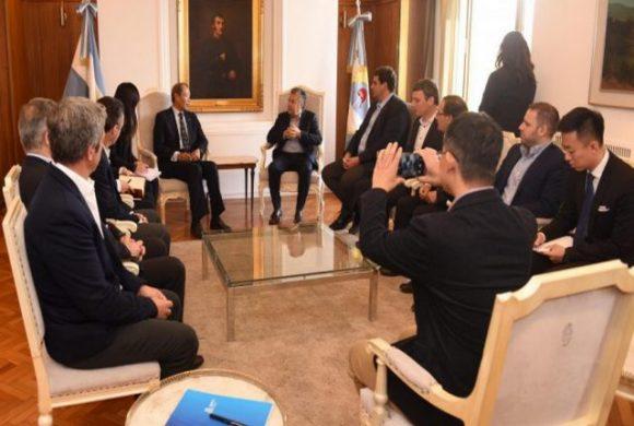 Consorcio chino analiza invertir en Mendoza para producir energías renovables