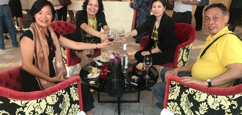 Un social de vinos mendocinos a 19.106 km de Mendoza