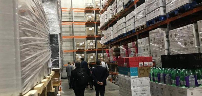 Desde aquí se distribuyen en Asia las exportaciones de Mendoza