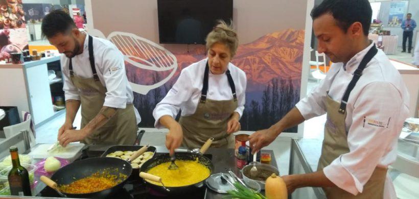 Chefs mendocinos se lucieron cocinando en Estados Unidos
