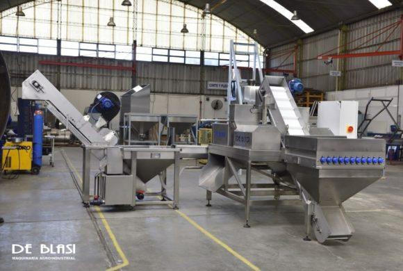Exportaron a Europa maquinarias procesadoras de pistacho