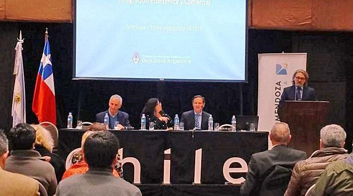 Explicaron en un seminario los beneficios del Acuerdo de Integración con Chile