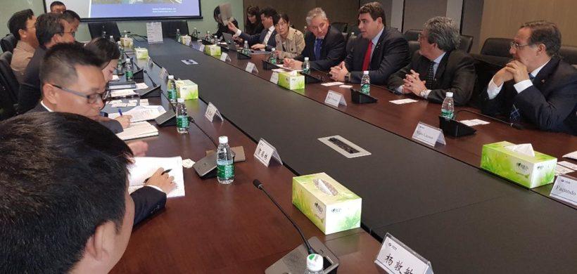 La misión mendocina interesó a Power China en proyectos de energía renovable