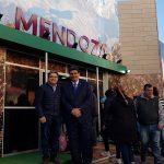 El stand de Mendoza es uno de los polos de atracción central en la Expo Rural 2019