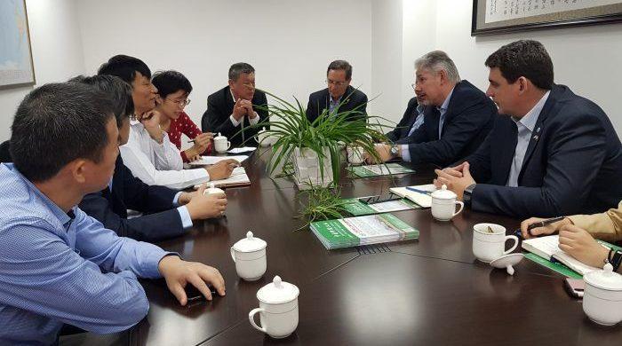 La misión mendocina visitó las instalaciones de Shanghai Potash