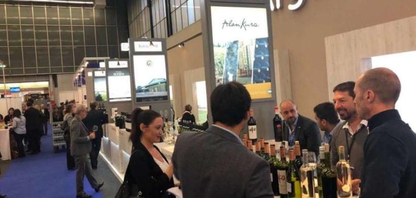 Gran presencia de bodegas mendocinas en la World Bulk Wine Exhibition en Holanda