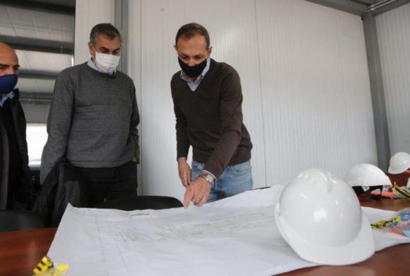 Vaquié recorrió las instalaciones de una de las principales empresas exportadoras de Mendoza