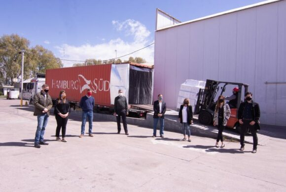 Vinos de 6 bodegas partieron hacia la nueva plataforma comercial de Mendoza en Estados Unidos