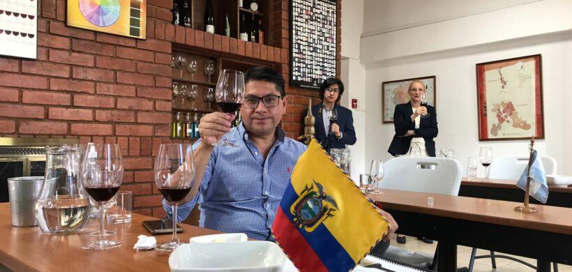 Once bodegas de Mendoza participan a distancia de una Misión de Vinos en Ecuador