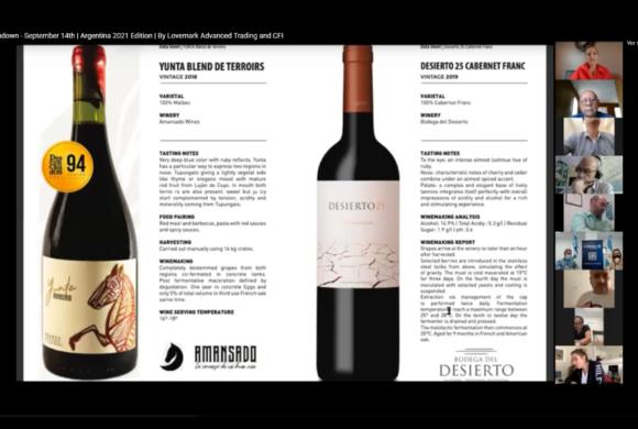 Exitosa misión comercial virtual de vinos en Estados Unidos